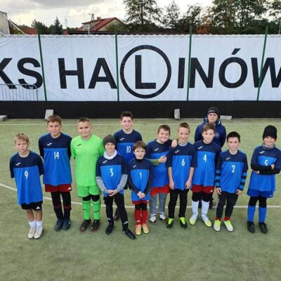 W poniedziałek KS Halinów we współpracy ze szkołą Smart School z Zakrętu zorgani...