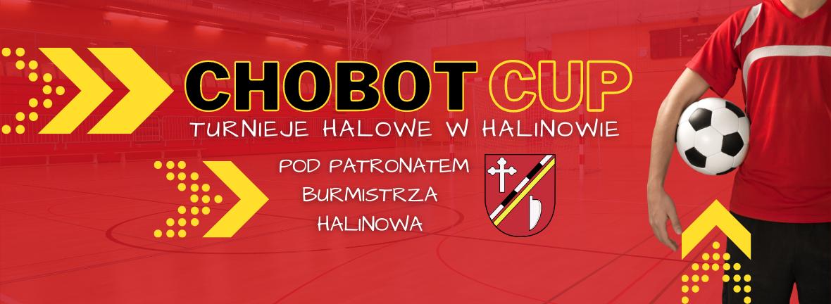 Banner - Chobot Cup - turnieje Halowe w Halinowie 1180x432